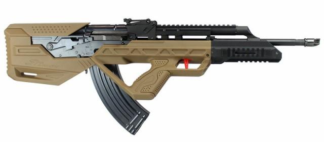 SRU AK BUP AK/01 ブルパップカスタムライフル GB...