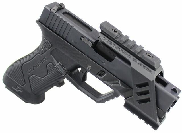 SRU G18C Advanced Frame GBB ピストル BK