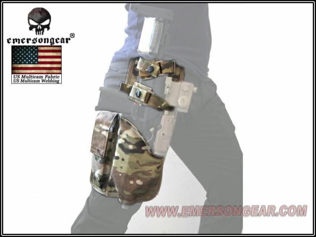 EMERSON MP7レッグホルスター MC