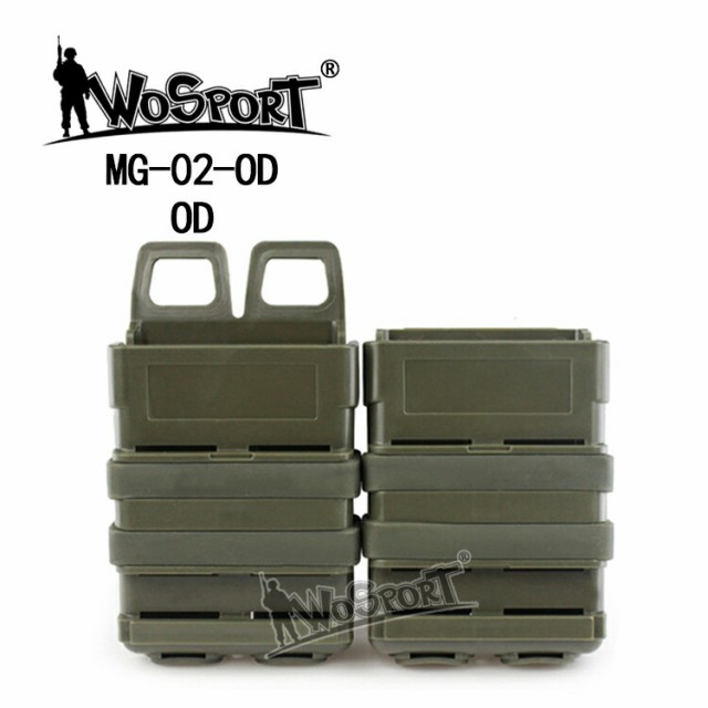 WoSporT ITW FastMagタイプ M4マガジンポーチ OD