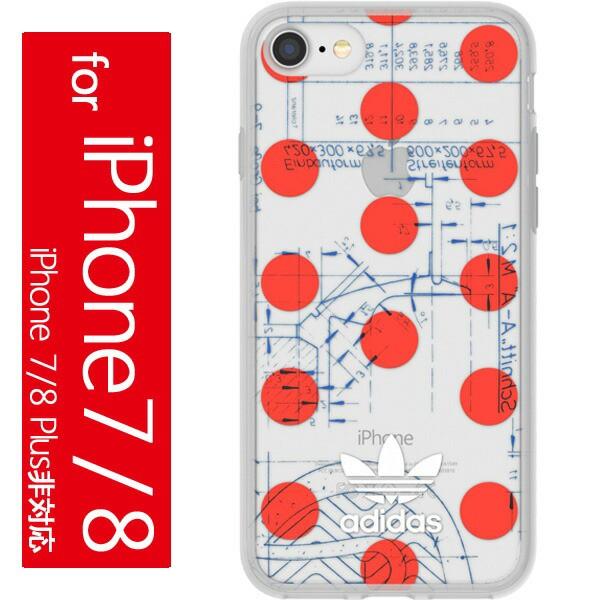 アディダス オリジナルス iPhone7/8 ケース クリ...
