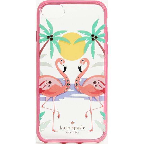 (取寄)Kate Spade New York Jeweled Flamingos iP...