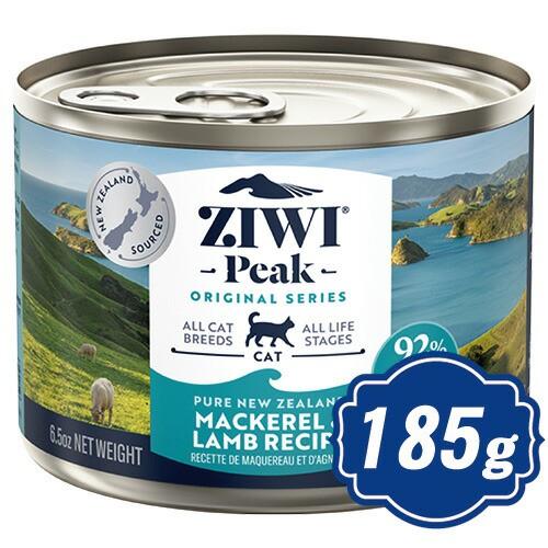 ジウィピーク キャット缶 NZマッカロー&ラム 185g...