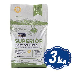 フィッシュ4 ドッグ スーペリア パピー 3kg(1.5k...