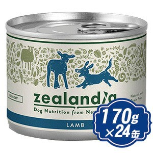 ジーランディア ドッグ ラム 170g×24缶 ドッグフ...