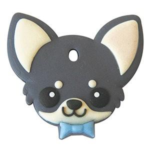 ペットキーカバー 犬 チワワ ブラック&タン 【メ...