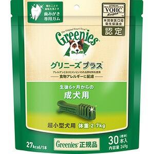 グリニーズプラス 成犬用 超小型犬用 体重2-7kg 3...