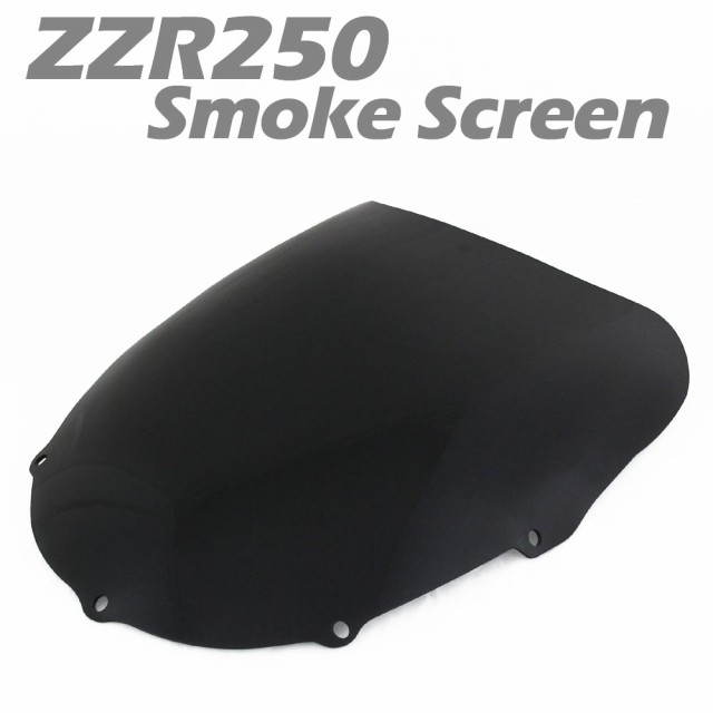ZZR250 ZZ-R250 EX250H スモーク スクリーン シー...