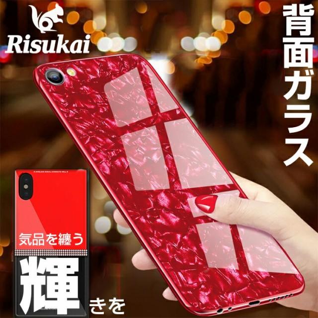 iphone8 背面ガラスケース GalaxyS9/S9+ iphonex ...