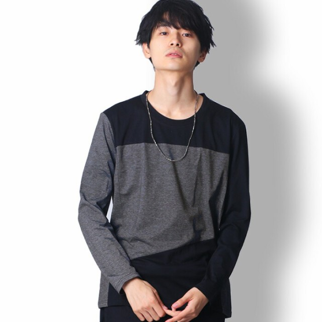 BUZZ WEAR 長袖ボーダーtシャツ メンズ 秋冬春用 ...