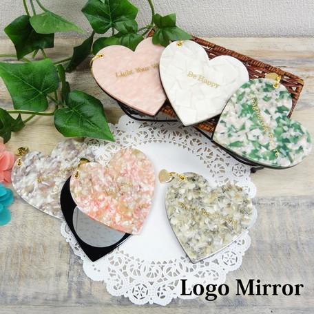 洗面鏡 インテリア・寝具・収納 ロゴ ミラー スラ...