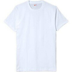 ヘインズ アカラベル クルーネックTシャツ(3枚組)...
