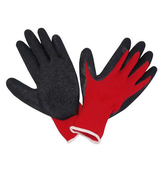 大きいサイズ 背抜きゴム手袋 3L 4L/1160-7340-1-...