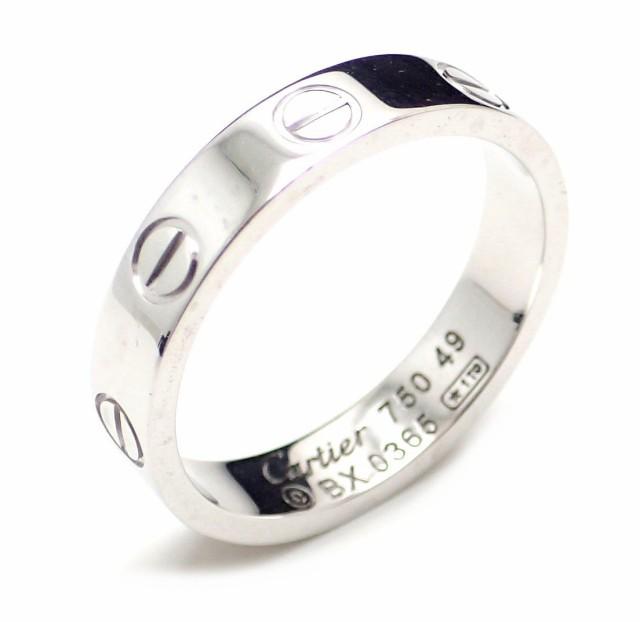 【ジュエリー】 カルティエ ミニラブリング 指輪 ...