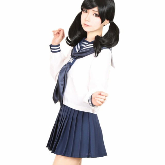 【コスプレ 制服 セーラー服】3点セット 白金学...