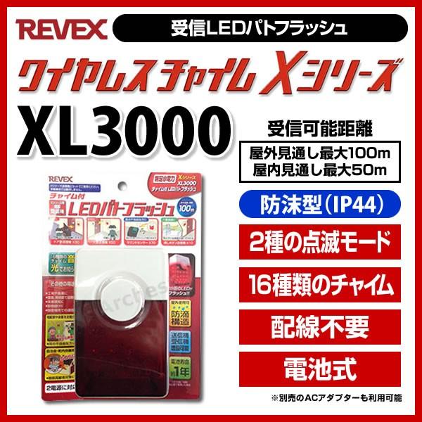 リーベックス[REVEX] ワイヤレスチャイムXシリ...
