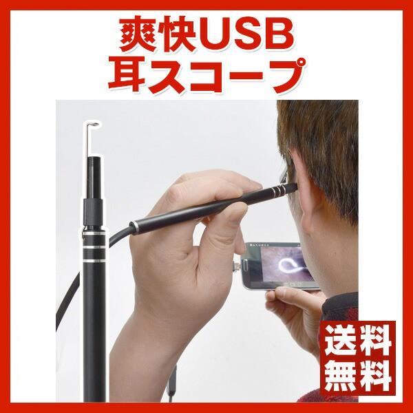 【送料無料】スッキリ耳掃除しましょう!/カメラ...