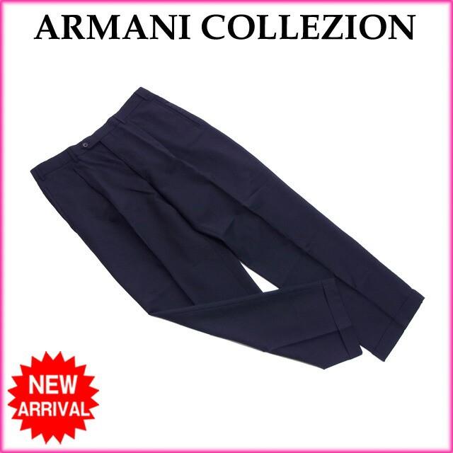 アルマーニ ARMANI パンツ フルレングス メンズ ...