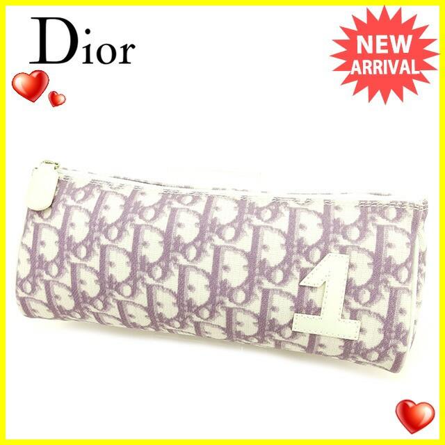 ディオール Dior ポーチ 化粧ポーチ レディース ...