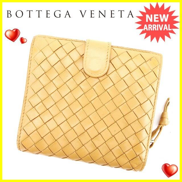 ボッテガ ヴェネタ BOTTEGA VENETA 二つ折り 財布...