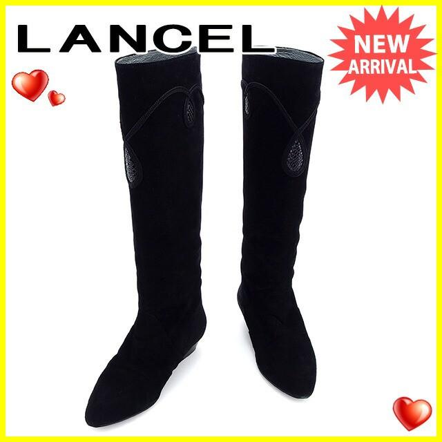 ランセル LANCEL ブーツ シューズ 靴 レディース ...