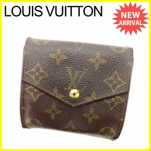 ルイ ヴィトン Louis Vuitton Wホック 財布 廃盤...