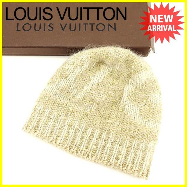 ルイ ヴィトン Louis Vuitton 帽子 ニット帽 レデ...