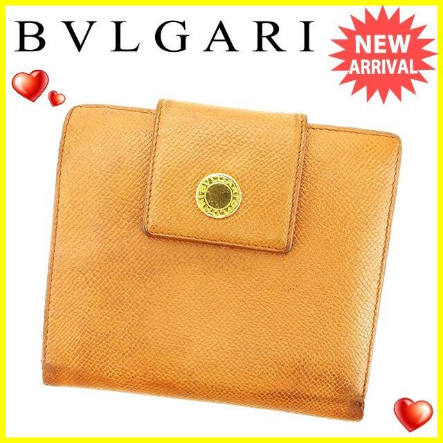 ブルガリ BVLGARI 二つ折り 財布 レディース メン...