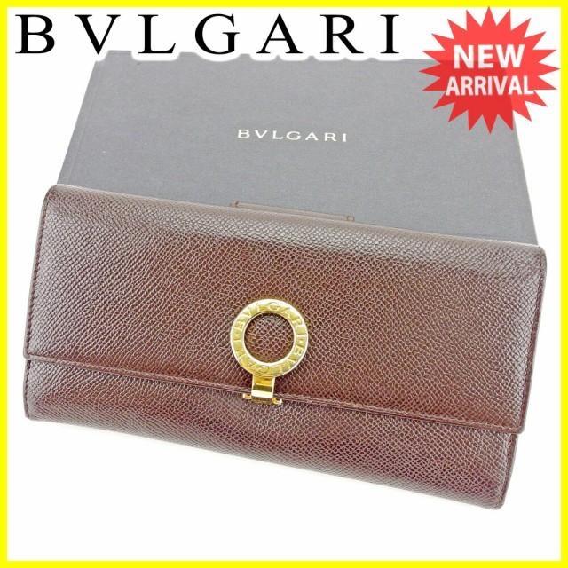 ブルガリ BVLGARI 長財布 二つ折り 財布 レディー...