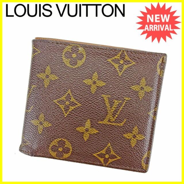 ルイ ヴィトン Louis Vuitton 二つ折り 札入れ 廃...