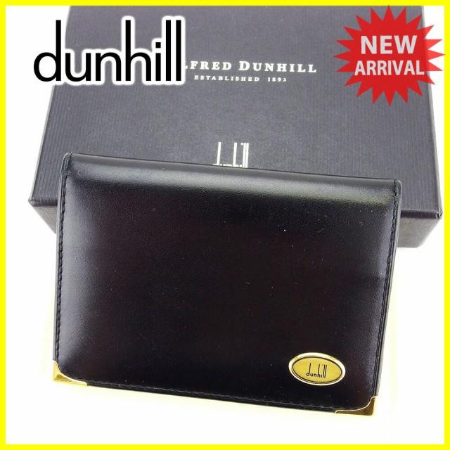ダンヒル dunhill 名刺入れ カードケース メンズ...