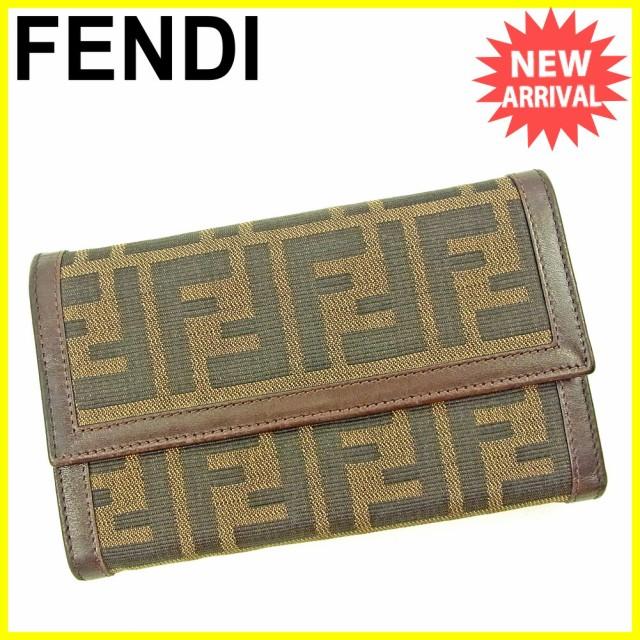 フェンディ FENDI 三つ折り 財布 二つ折り 財布 ...