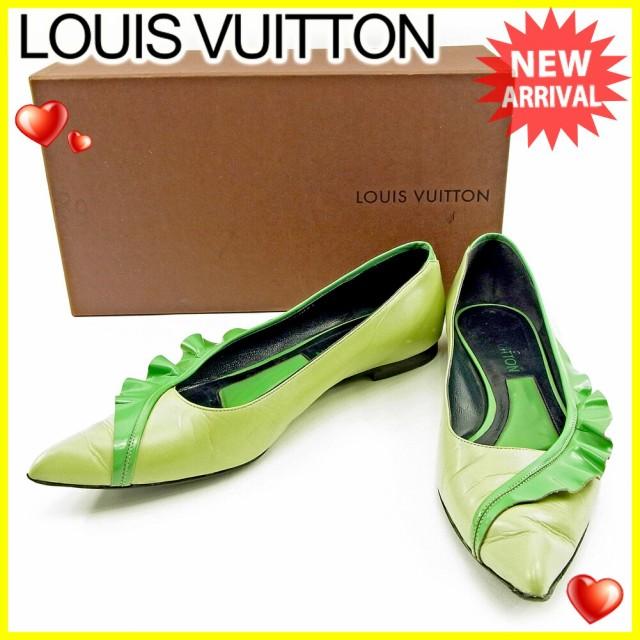 ルイ ヴィトン Louis Vuitton パンプス #37 1/2 ...