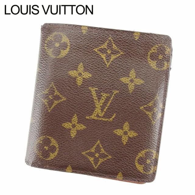 ルイ ヴィトン 二つ折り札入れ 二つ折り 財布 レ...