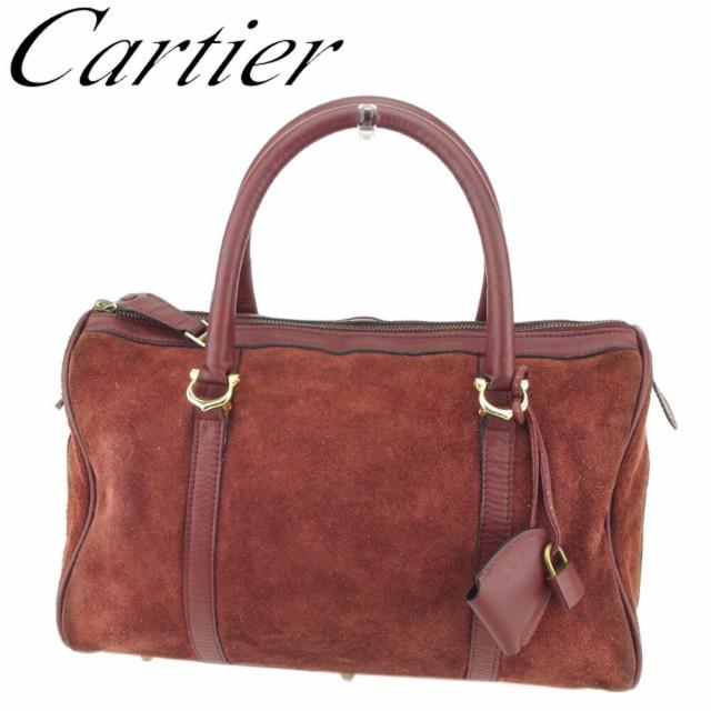 カルティエ Cartier ボストンバッグ ハンドバッグ...