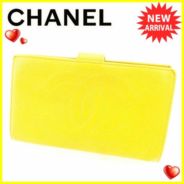 シャネル CHANEL 長財布 がま口 財布 レディース ...