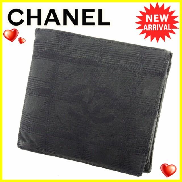シャネル CHANEL 二つ折り 財布 レディース メン...