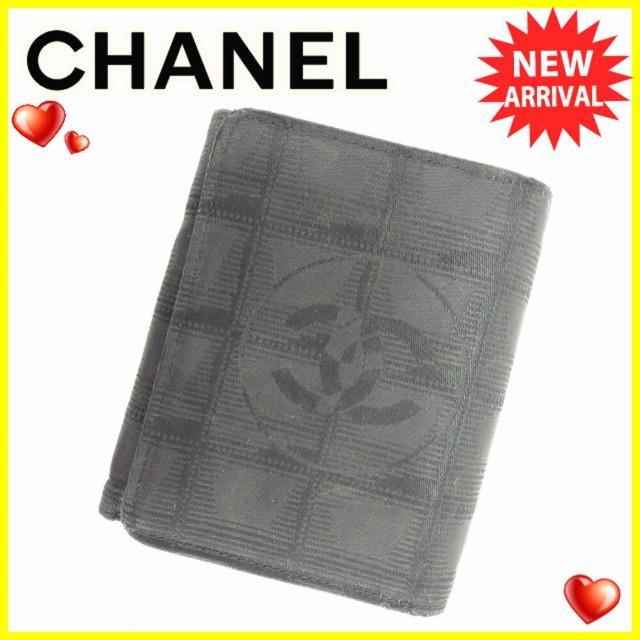 シャネル CHANEL 三つ折り 財布 二つ折り 財布 レ...