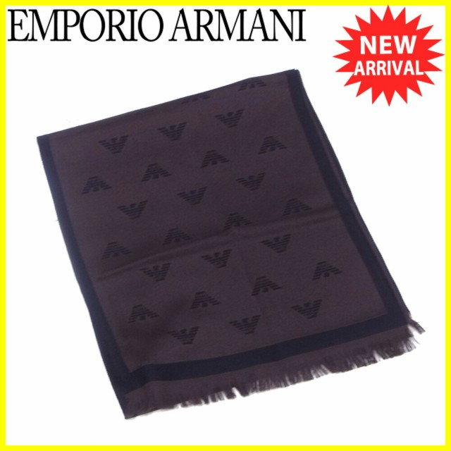 エンポリオ アルマーニ EMPORIO ARMANI マフラー ...