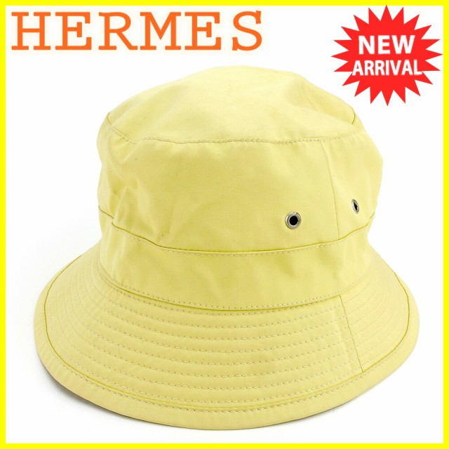 エルメス HERMES 帽子 ♯61サイズ レディース メ...