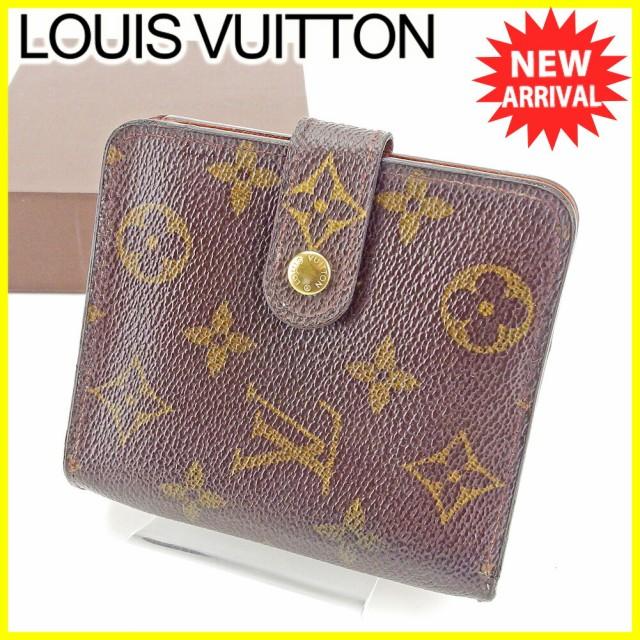 ルイ ヴィトン Louis Vuitton 二つ折り 財布 ラウ...