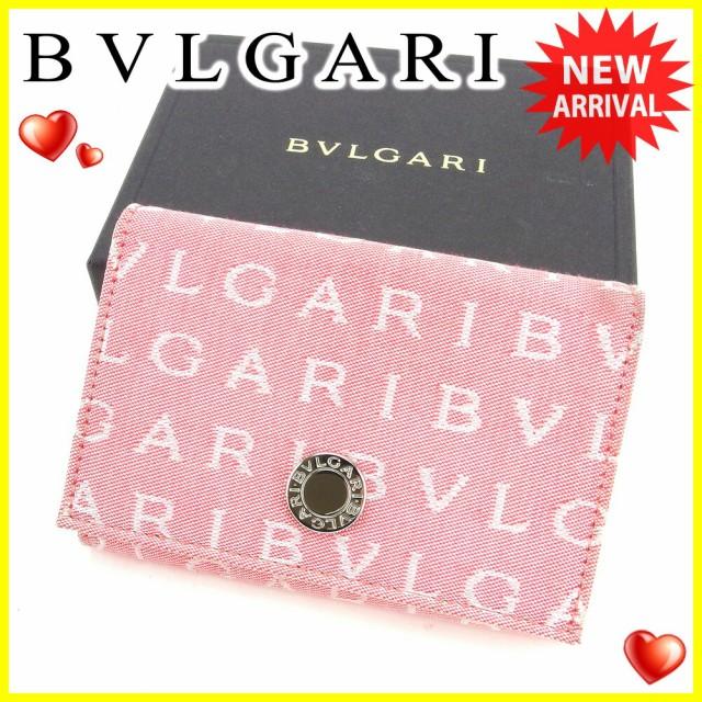 ブルガリ BVLGARI カードケース 名刺入れ レディ...