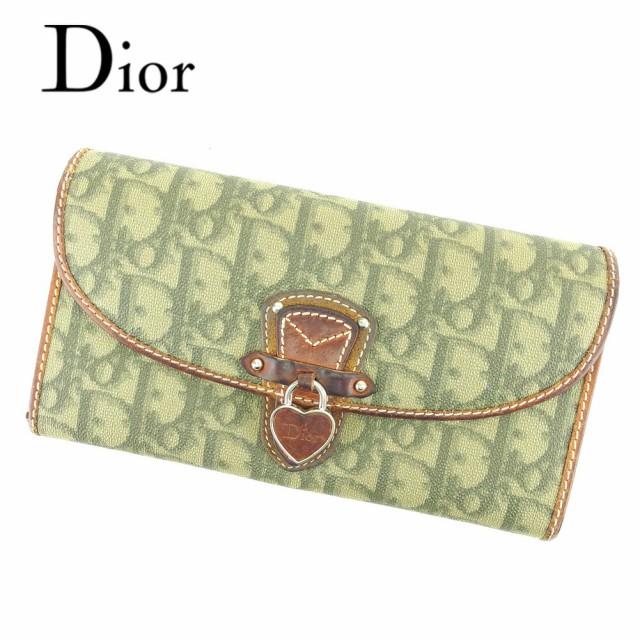 ディオール Dior 長財布 二つ折り 財布 レディー...