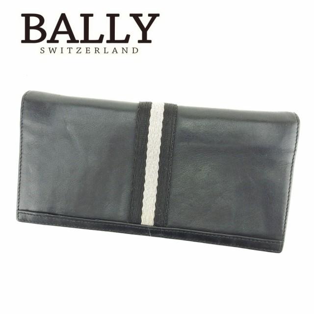 バリー BALLY ジップ 長財布 二つ折り 財布 メン...