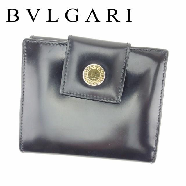 ブルガリ BVLGARI Wホック 財布 二つ折り 財布 レ...