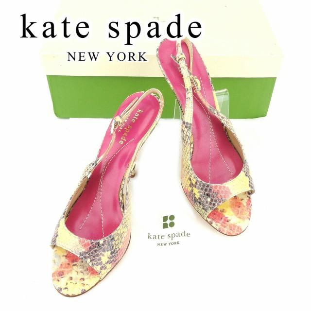 ケイト スペード kate spade パンプス 靴 シュー...