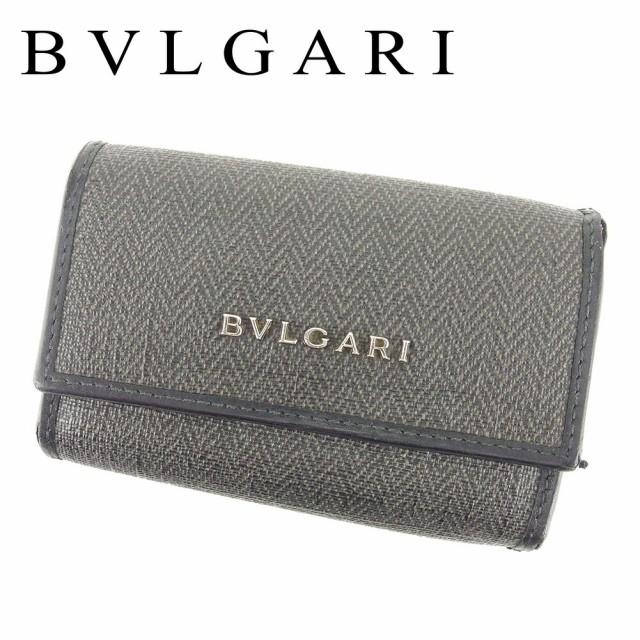 ブルガリ BVLGARI キーケース 6連キーケース レデ...