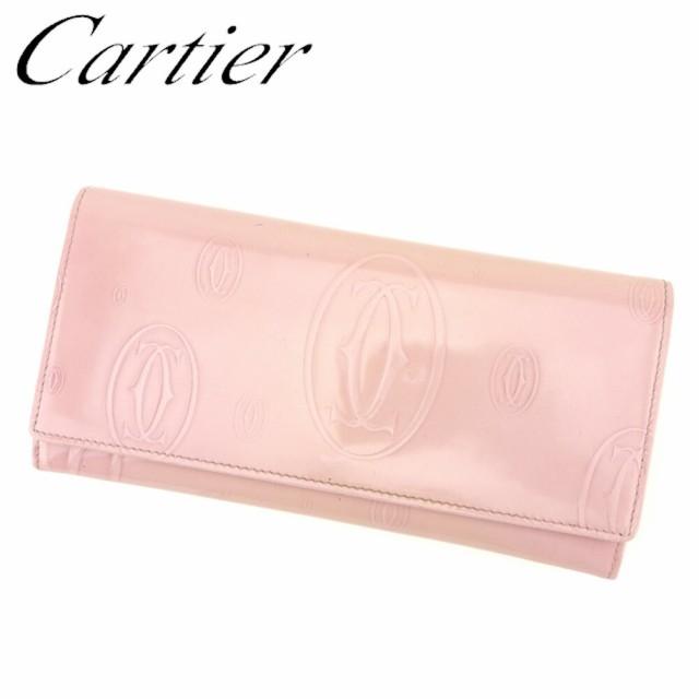 カルティエ Cartier 長財布 ファスナー付き 財布 ...