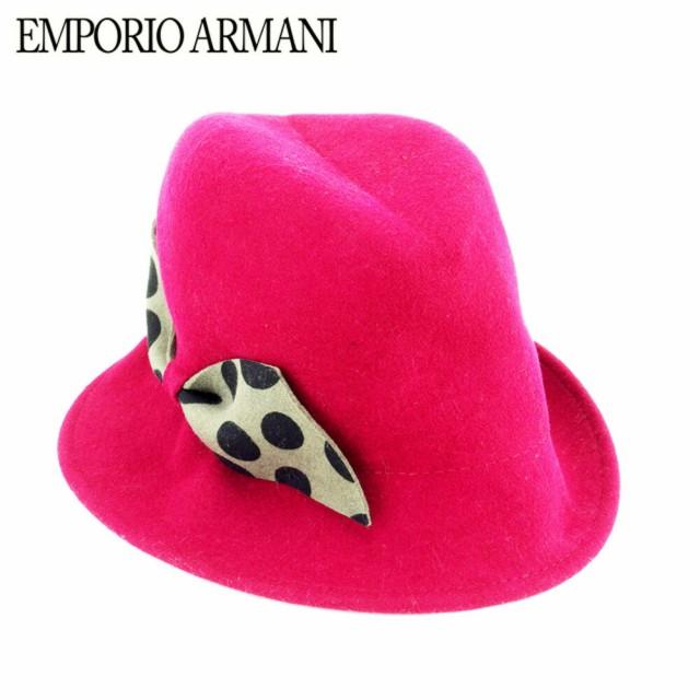 エンポリオ アルマーニ EMPORIO ARMANI 帽子 中折...