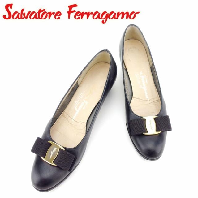 サルヴァトーレ フェラガモ パンプス シューズ 靴...
